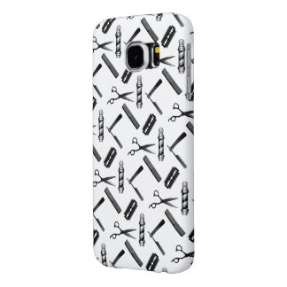 Barber's Shop Pattern Samsung Galaxy S6 Cases