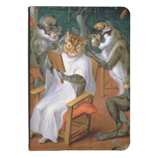Barber's shop with Monkeys and Cats Kindle 4 Cover