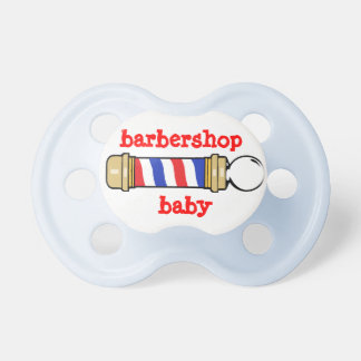 Barbershop Baby Pacifiers