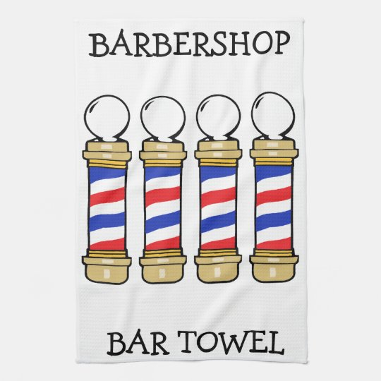 Barbershop Bar Towel