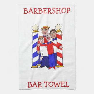 Barbershop Bar Towel