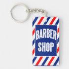 Barbershop Keychain
