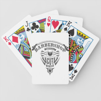 Barbershop originals vintage bicycle playing cards