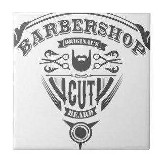 Barbershop originals vintage ceramic tile