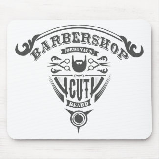 Barbershop originals vintage mouse pad