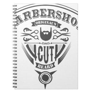 Barbershop originals vintage notebooks