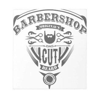 Barbershop originals vintage notepad