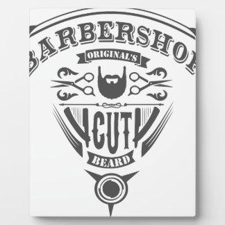 Barbershop originals vintage plaque