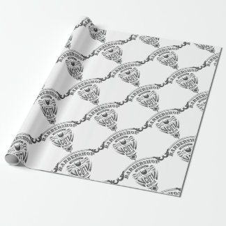 Barbershop originals vintage wrapping paper