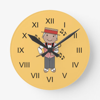 Barbershop Singer Music Clock Gift