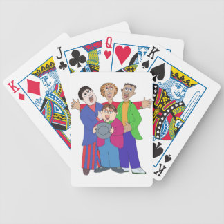 Barbershoppers Bicycle Playing Cards