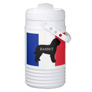 barbet name silo France flag Drinks Cooler