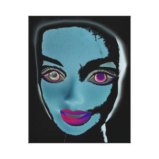 Barbie1 Digital Art by Violet Tantrum Canvas Print
