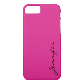 Barbie pink color background iPhone 8/7 case