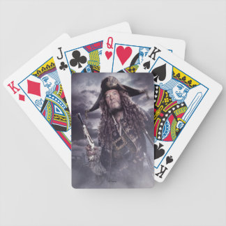 Barbossa - Command Respect Bicycle Playing Cards