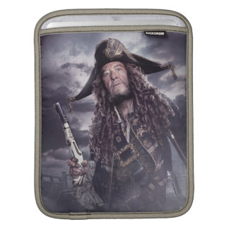 Barbossa - Command Respect iPad Sleeve