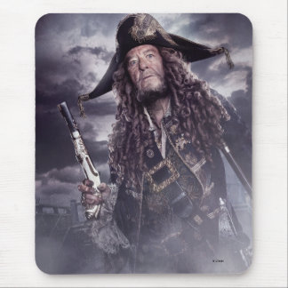 Barbossa - Command Respect Mouse Pad