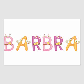 Barbra Sticker