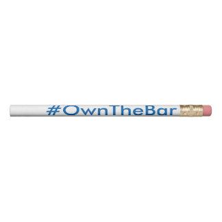 BARBRI #OwnTheBar Bar Exam Pencil