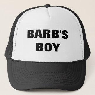 BARB'S BOY TRUCKER HAT