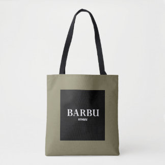 """BARBU Athens"" Tote Bag"