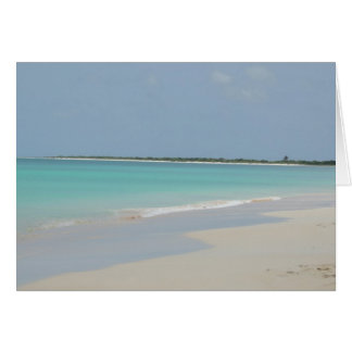 Barbuda Beach Card