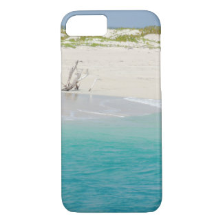 Barbuda Beach Driftwood iPhone case