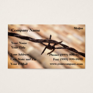 Barbwire Business Card