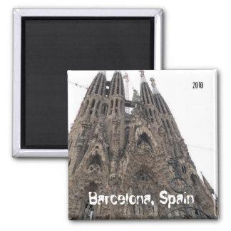 Barcelona 2010 magnet