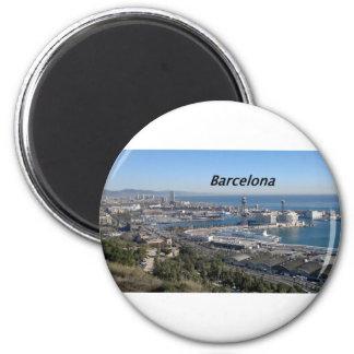 barcelona--aerial- view--[kan.k].JPG Magnet