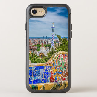 Barcelona and Park Guell Bench Unique OtterBox Symmetry iPhone 8/7 Case