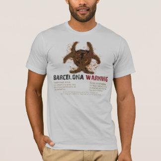 Barcelona Biohazard Silver T-Shirt