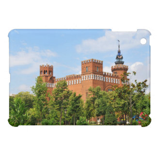 Barcelona castle iPad mini case