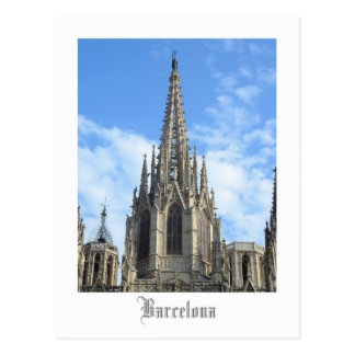 Barcelona Cathedral Postcard