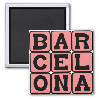 Barcelona, City in Spain Magnet