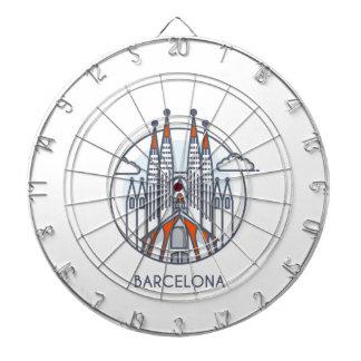 Barcelona Dartboard