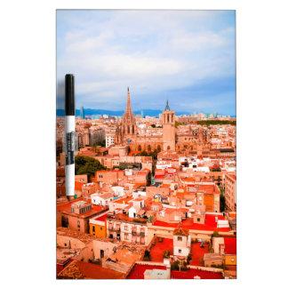 Barcelona Dry Erase Board
