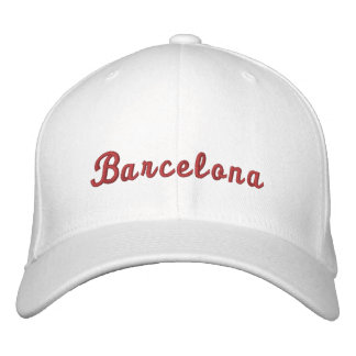 Barcelona Embroidered Hat