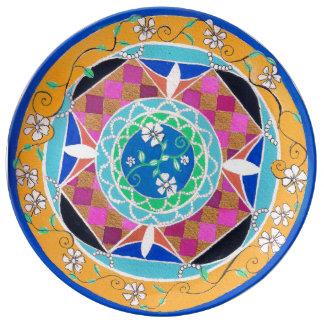 Barcelona Formal Plate Porcelain Plate