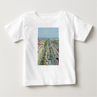 Barcelona from above baby T-Shirt