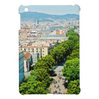 Barcelona from above case for the iPad mini