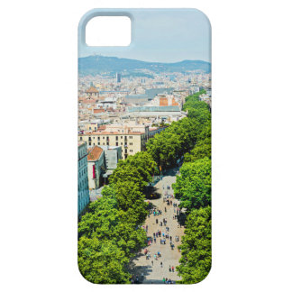 Barcelona from above case for the iPhone 5