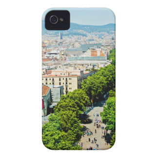 Barcelona from above Case-Mate iPhone 4 case