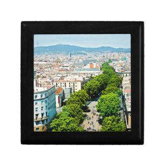 Barcelona from above gift box