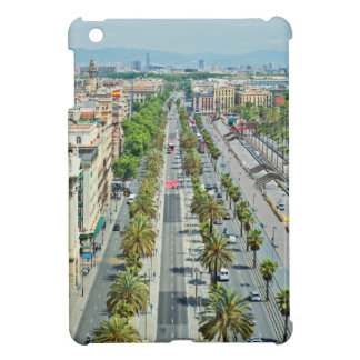 Barcelona from above iPad mini covers