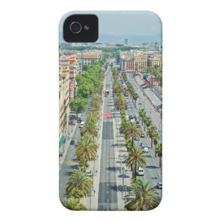 Barcelona from above iPhone 4 Case-Mate case