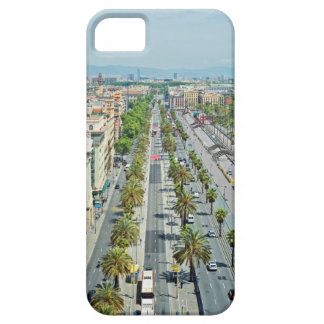 Barcelona from above iPhone 5 cover