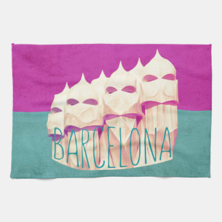 Barcelona Gaudi Paradise Kitchen Towel