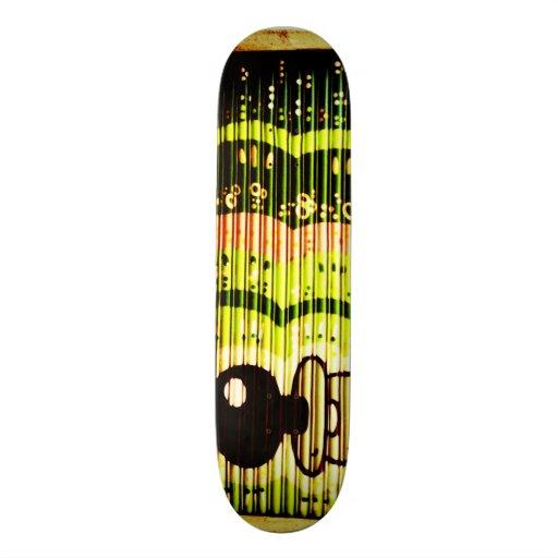 Barcelona Graffiti designed by Tipfriend Mia Custom Skate Board