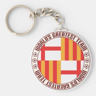 Barcelona Greatest Team Basic Round Button Keychain